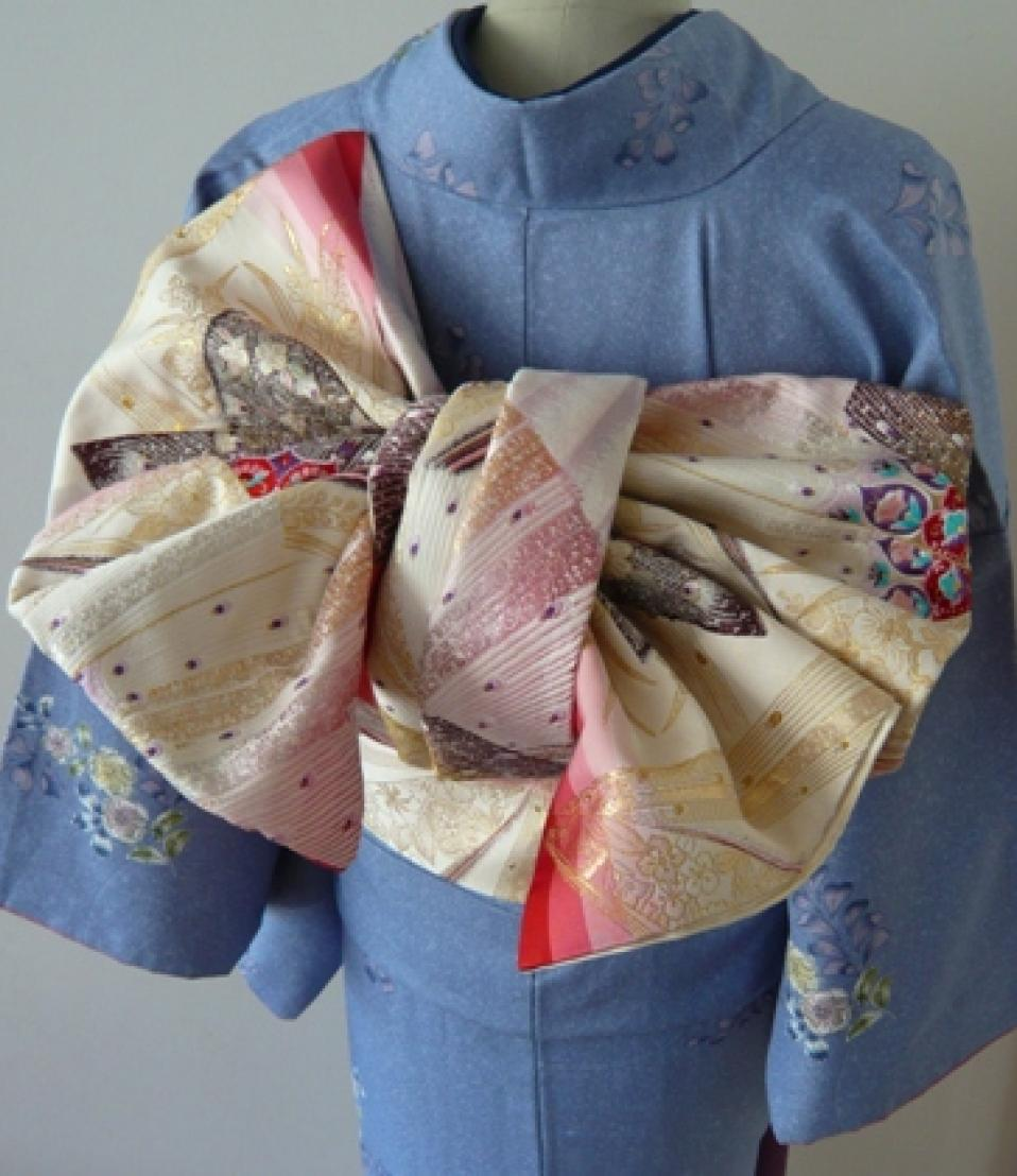 Kitsuke, port du kimono