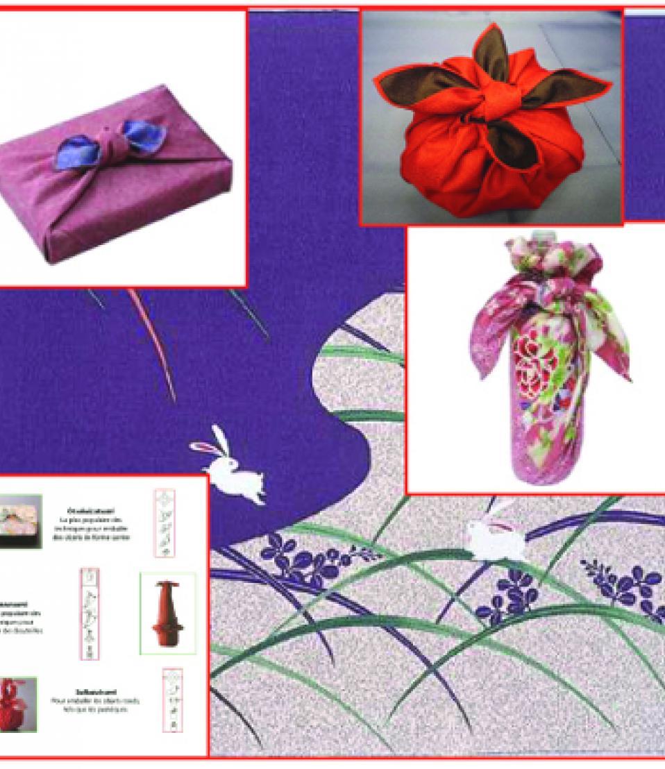 furoshiki, l'emballage tissu japonais