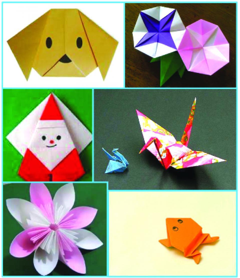 origami, le pliage du papier japonais