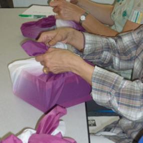 Atelier de furoshiki