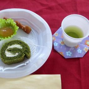 Thés et pâtisseries japonais