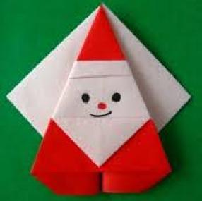 Décorations de Noël en origami