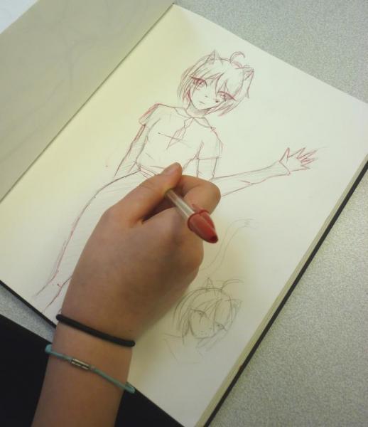 Atelier manga à Poissy