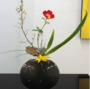 Ikebana, arrangement floral japonais
