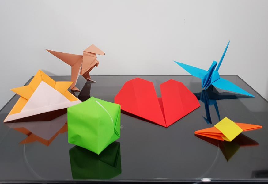 Atelier d'origami à distance