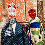 Masques et kimono